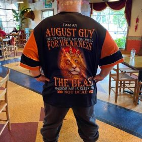 Personalized Name August Guy 3D All Over Printed Clothes NQMA260108 photo review